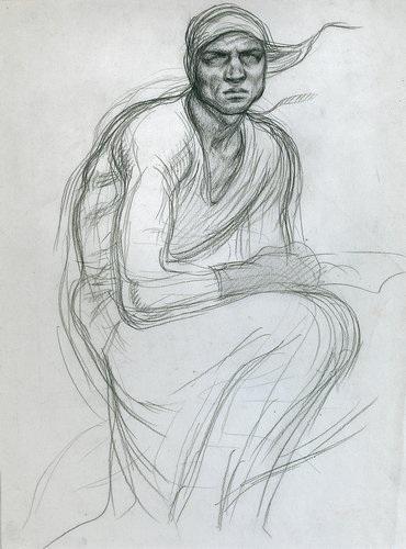 Romano Dazzi - Autoritratto