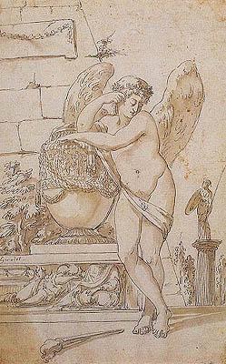 Anne-Louis Girodet de Roucy-Trioson - Genio funerario