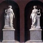Bernardino Nocchi - Alexandrine de Bleschamps come Tersicore