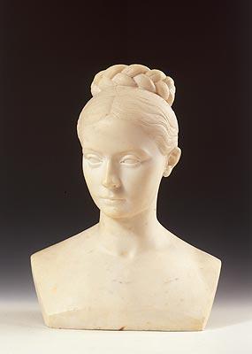 Christian-Daniel Rauch - Busto femminile