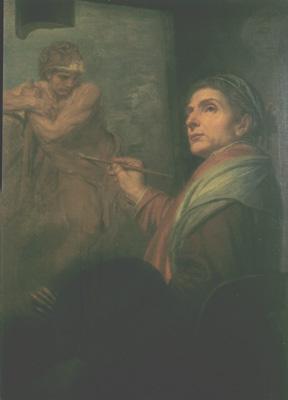Domenico Corvi - Autoritratto