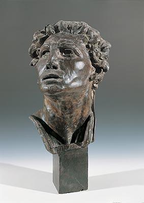 Duilio Cambellotti - Testa per il Monumento ai Caduti di Fiuggi