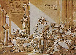Fortunato Duranti - Ulisse in casa di monsignor Della Casa