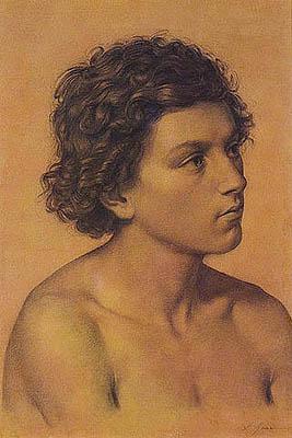 Francesco Gai - Studio dal vero di fanciullo