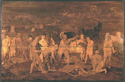 Giovanni Maffezzoli - Giasone, Ercole e gli Argonauti compiangono la morte di Cizico