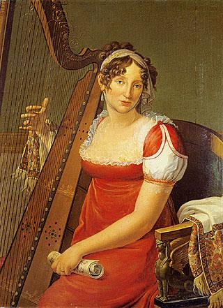 Giuseppe Collignon - Ritratto di Elisa Baciocchi
