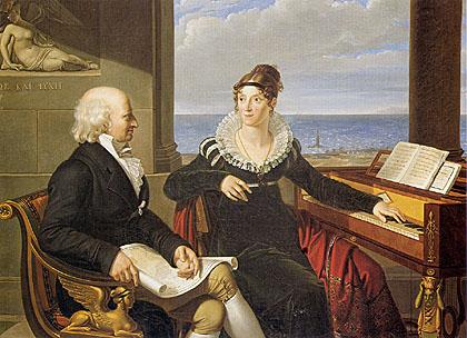 Giuseppe Colzi De' Cavalcanti - Ritratto dei coniugi Schubart