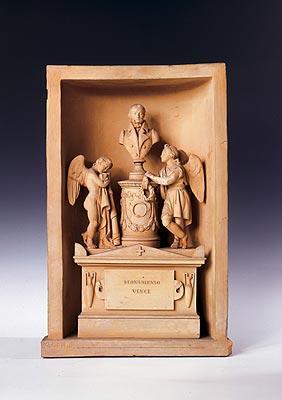 Ignazio Cantalamessa Carboni / Giorgio Paci - Bozzetto del monumento del conte Cesare Vinci