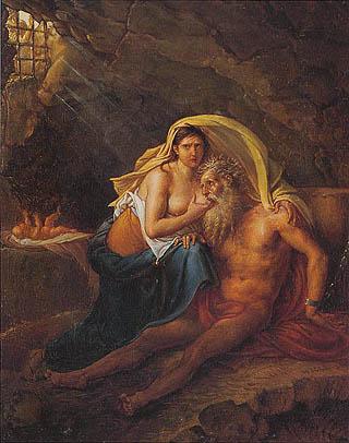 Jean-Baptiste-Joseph Wicar - La Carità Romana