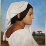 Jean Léon Gérome: Ritratto di giovane romana
