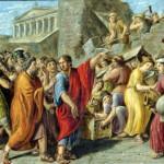 Luigi Ademollo - Publicola atterra la sua casa che dava sospetto ai romani