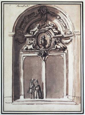 Carlo Marchionni - Veduta di una porta ideale