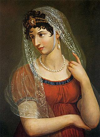 Pietro Benvenuti - Ritratto della moglie