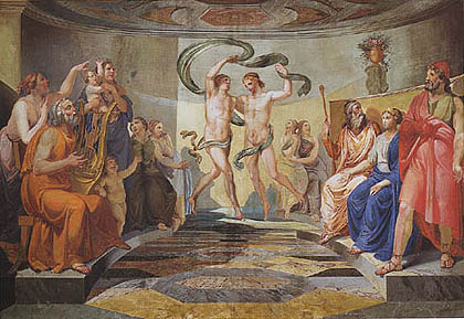 Pietro Paoletti - La danza dei figli di Alcinoo in onore di Ulisse