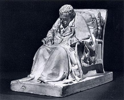 Pompeo Marchesi - Ritratto virile sedente