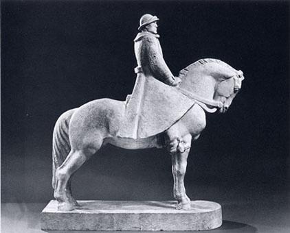 Publio Morbiducci - Monumento al Duca d'Aosta per il concorso di Torino