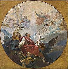 Virginio Monti - Gloria di Santo Stefano