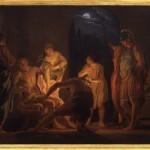 Domenico Corvi: la morte di Seneca