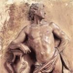 Filippo Scandellari: Apollo con la lira