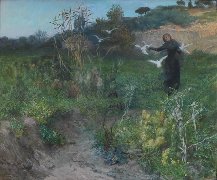 Giuseppe Cellini-Dal paesaggio naturale al simbolico