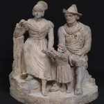 Achille Pinelli: Gruppo di famiglia di popolani romani