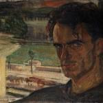 Ferruccio Ferrazzi (Roma 1891-1978), Autoritratto, 1912