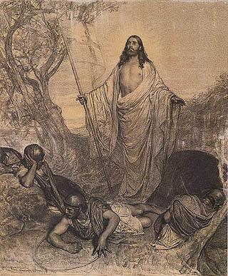 Cesare Maccari - Resurrezione di Cristo