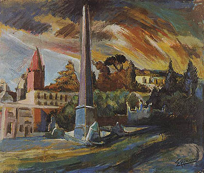 Eleuterio Riccardi - Piazza del Popolo