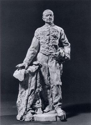 Enrico Quattrini - Monumento a un ufficiale