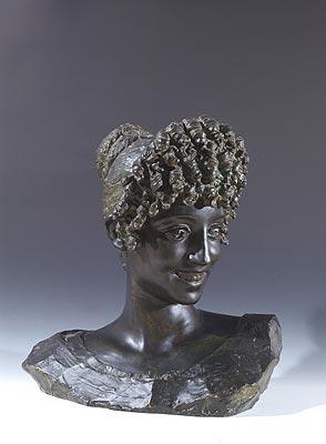 Ernesto Biondi - Busto di donna romana