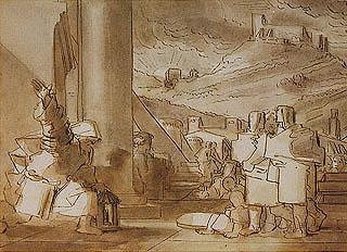 Fortunato Duranti - Scena classica