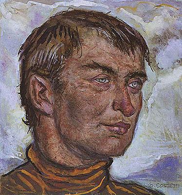 Giovanni Costetti - Ritratto maschile