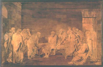 Giovanni Maffezzoli - La morte di Socrate