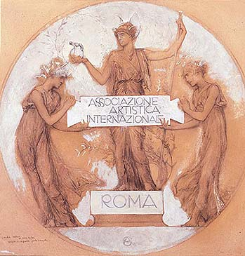 Giulio Aristide Sartorio - Associazione Artistica Internazionale. Roma