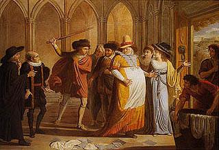 James Durno - Falstaff in incognito cacciato dalla casa di Ford