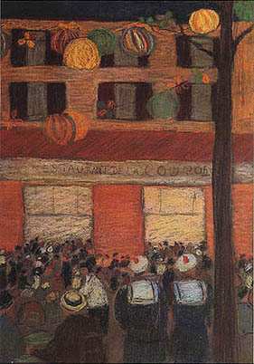 Lelia Caetani Howard - La coupole (1933 c.)