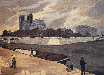 Lelia Caetani Howard - Notre Dame à Paris