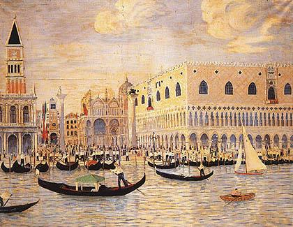 Lelia Caetani Howard - Piazza San Marco