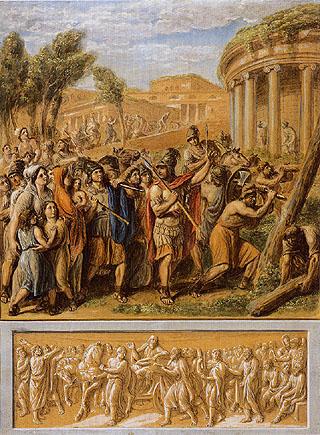 Luigi Ademollo - Episodio di storia antica