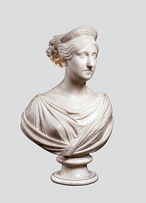 Luigi Pampaloni - Ritratto di Maria Antonietta di Borbone, granduchessa di Toscana