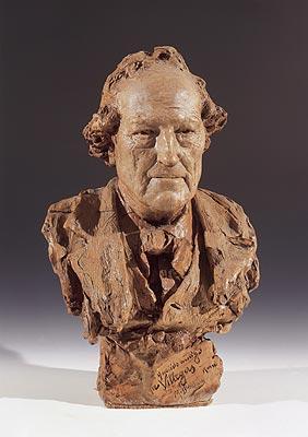 Mariano Benlliure Y Gil - Busto di José Villegas