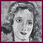 A. Derain - Ritratto di Lelia Caetani