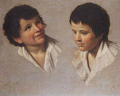 Stefano Tofanelli -  Studio per il ritratto della famiglia Belluomini