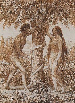 Wilhelm Marstrand - Adamo ed Eva