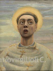 Birtolo Sacchi : ritratto come santo