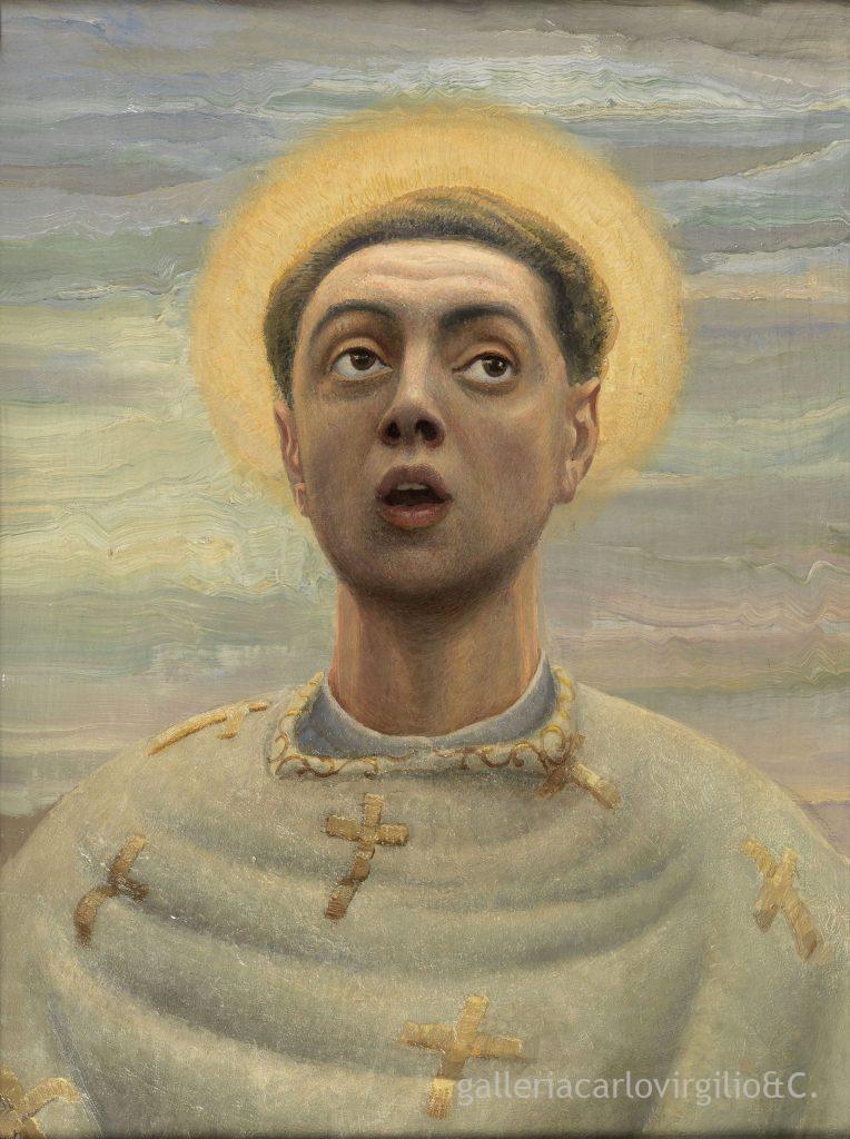 Bortolo Sacchi : ritratto come santo