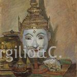 Chini: maschera teatro